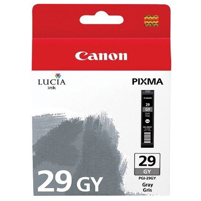 Genuine Canon PGI-29 Grey Ink Cartridge (PGI29GOEM)