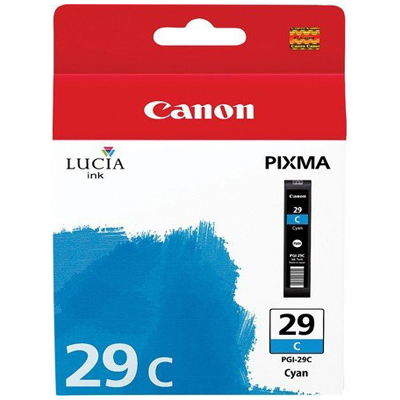 Genuine Canon PGI-29 Cyan Ink Cartridge (PGI29COEM)