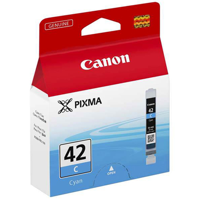 Genuine Canon CLI-4 Cyan Ink Cartridge (CLI42COEM)