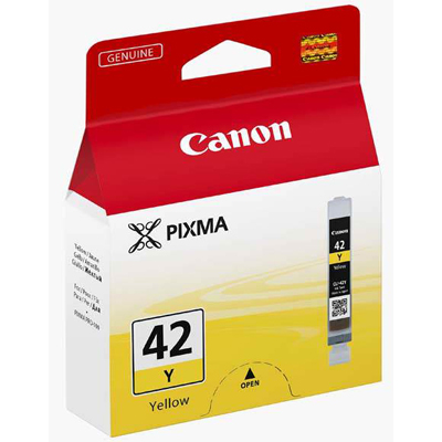 Genuine Canon CLI-42 Yellow Ink Cartridge (CLI42YOEM)