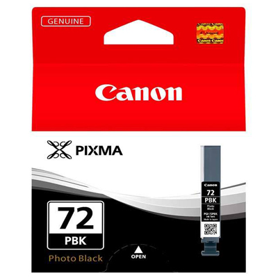 Genuine Canon PGI-72 Photo Black Ink Cartridge (PGI72PBKOEM)