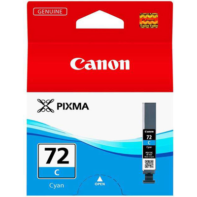 Genuine Canon PGI-72 Cyan Ink Cartridge (PGI72COEM)