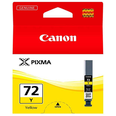 Genuine Canon PGI-72 Yellow Ink Cartridge (PGI72YOEM)