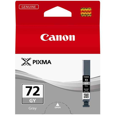 Genuine Canon PGI-72 Gray Ink Cartridge (PGI72GOEM)