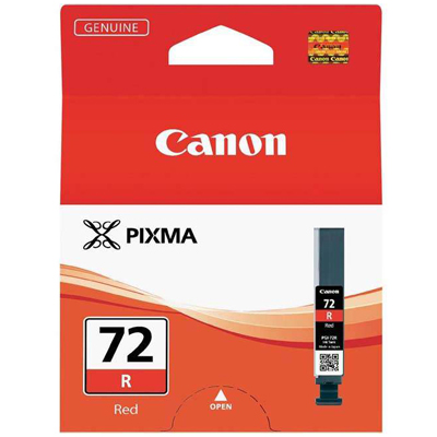Genuine Canon PGI-72 Red Ink Cartridge (PGI72ROEM)