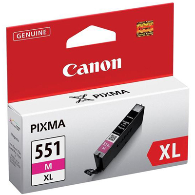 Genuine Canon CLI-551XL Magenta Ink Cartridge (CLI551XLMOEM)