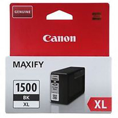Genuine Canon PGI-1500XL Black ink Cartridge (PGi1500XLBKOEM)