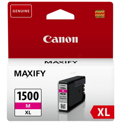 Genuine Canon PGI-1500XL Magenta ink Cartridge (PGi1500XLMOEM)