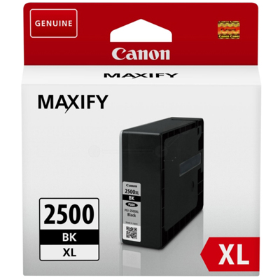 Genuine Canon PGI-2500XL Black ink Cartridge (PGI2500XLBKOEM)