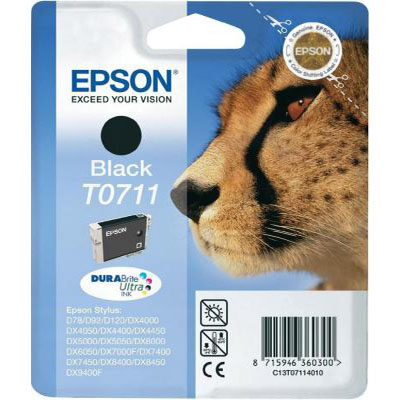 Genuine Epson C13T07114012 Black Ink Cartridge (T0614YOEM)