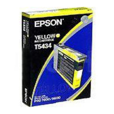 Genuine Epson C13T543400 Yellow Ink Cartridge (T5434YOEM)