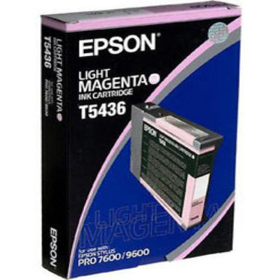 Genuine Epson C13T543600 Light Magenta Ink Cartridge (T5436LMOEM)