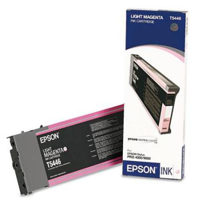 Genuine Epson C13T544600 Light Magenta Ink Cartridge (T5446LMOEM)