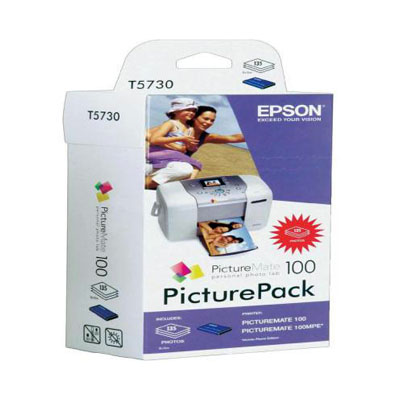 Genuine Epson C13T573040 Picture Mate Picturepack C/M/Y Photo Cartridge (T5730CMYPMPPOEM)