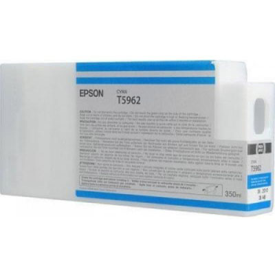 Genuine Epson C13T596200 Cyan Ink Cartridge (T5962COEM)
