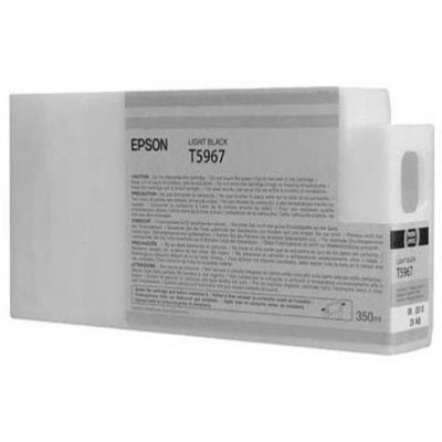 Genuine Epson C13T596700 Light Black Ink Cartridge (T5967LBKOEM)