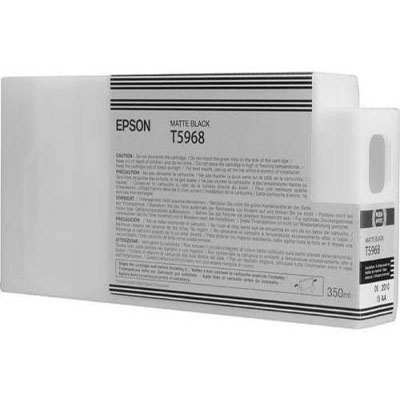 Genuine Epson C13T596800 Matte Black Ink Cartridge (T5968MBKOEM)