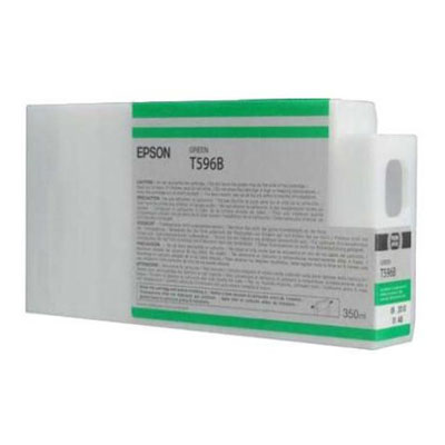 Genuine Epson C13T596B00 Green Ink Cartridge (T596BGOEM)