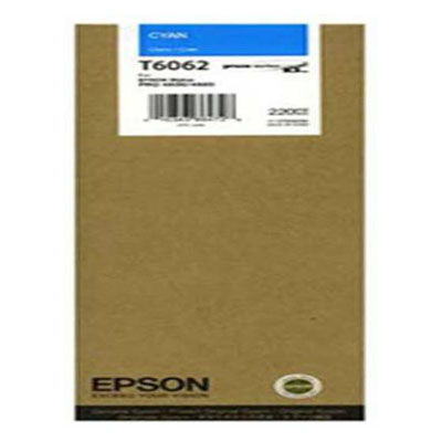 Genuine Epson C13T606200 Cyan High Capacity Ink Cartridge (T6062COEM)