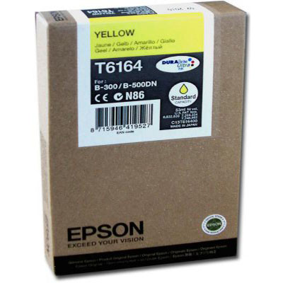 Genuine Epson C13T616400 Yellow Ink Cartridge (T6164YOEM)