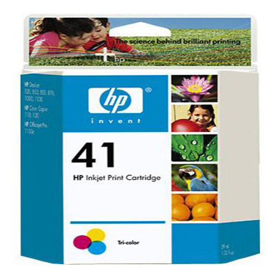 Genuine HP 51641A (#41) Tri-Colour Ink Cartridge (HP41CLROEM)
