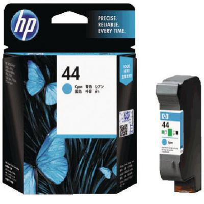Genuine HP 51644C (#44) Cyan Ink Cartridge (HP44COEM)