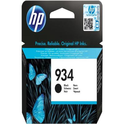 Genuine HP C2P19AE (#934) Black Ink Cartridge (HP934BKOEM)