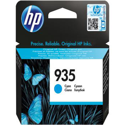 Genuine HP C2P20AE (#935) Cyan Ink Cartridge (HP935COEM)