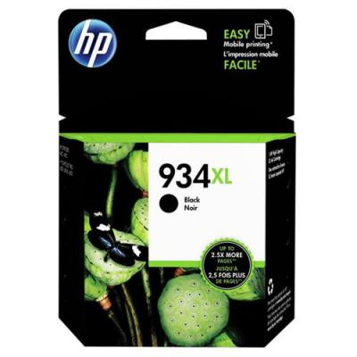 Genuine HP C2P23AE (#934XL) Black High Capacity Ink Cartridge (HP934XLBKOEM)