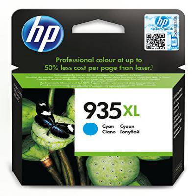 Genuine HP C2P24AE (#935XL) Cyan High Capacity Ink Cartridge (HP935XLCOEM)