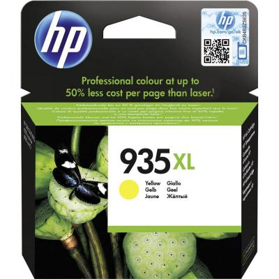 Genuine HP C2P26AE (#935XL) Yellow High Capacity Ink Cartridge (HP935XLYOEM)