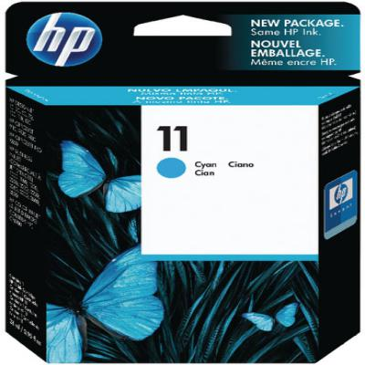 Genuine HP C4836AE (#11) Cyan Ink Cartridge (HP11COEM)