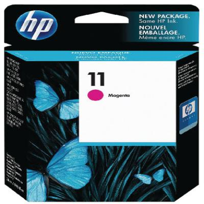 Genuine HP C4837AE (#11) Magenta Ink Cartridge (HP11MOEM)