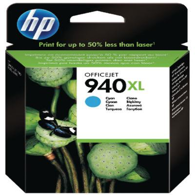 Genuine HP C4907A (#940H) Cyan High Capacity Ink Cartridge (HP940XLCHOEM)