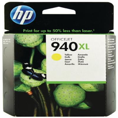 Genuine HP C4909AE (#940H) Yellow High Capacity Ink Cartridge (HP940XLYHOEM)