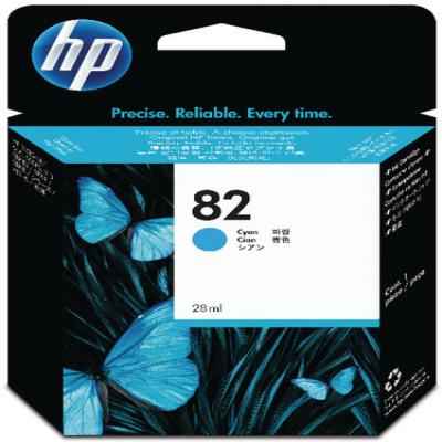 Genuine HP C4911A (#82) Cyan High Capacity Ink Cartridge (HP82CHOEM)