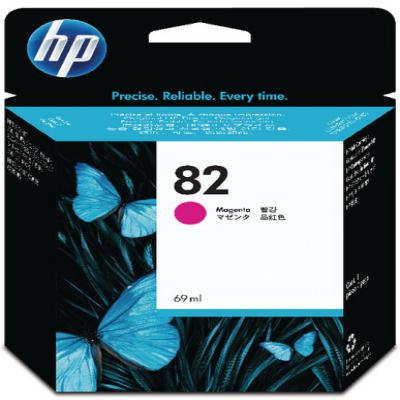 Genuine HP C4912A (#82) Magenta High Capacity Ink Cartridge (HP82MHOEM)
