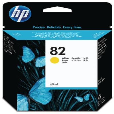 Genuine HP C4913A (#82) Yellow High Capacity Ink Cartridge (HP82YHOEM)