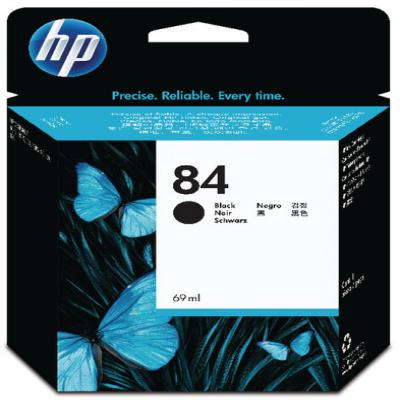 Genuine HP C5016A (#84H) Black High Capacity ink Cartridge (HP84BKHOEM)