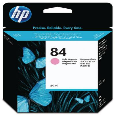 Genuine HP C5018A (#84) Light Magenta ink Cartridge (HP84LMOEM)