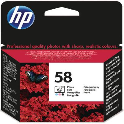 Genuine HP C6658AE (#58) Photo Ink Cartridge (HP58PHOTOOEM)
