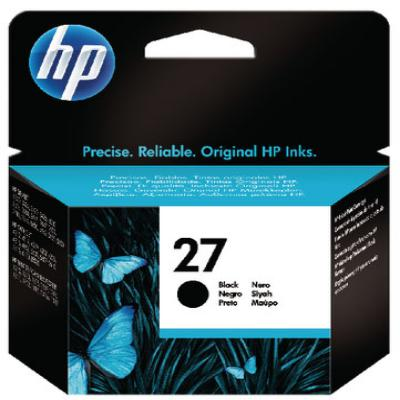 Genuine HP C8727AE (#27) Black Ink Cartridge (HP27BKOEM)