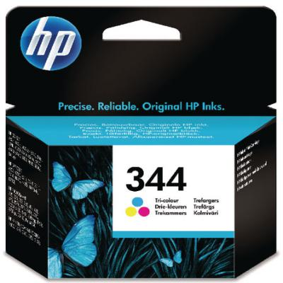 Genuine HP C9363EE (#344) Tri-Colour Ink Cartridge (HP344CLROEM)
