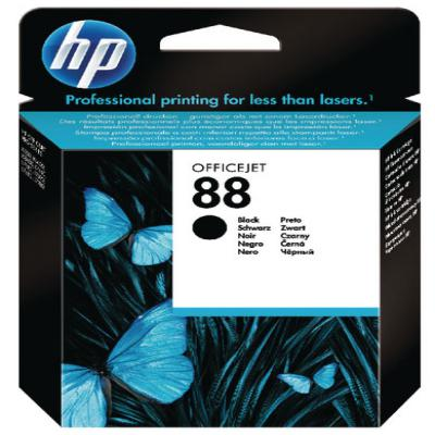 Genuine HP C9385AE (#88) Black Ink Cartridge (HP88BKOEM)