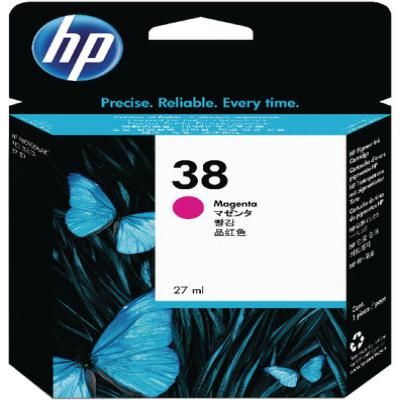 Genuine HP C9416A (#38) Magenta Ink Cartridge (HP38MOEM)