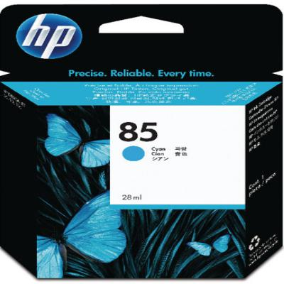 Genuine HP C9425A (#85) Cyan ink Cartridge (HP85COEM)