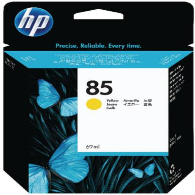 Genuine HP C9427A (#85) Yellow ink Cartridge (HP85YOEM)