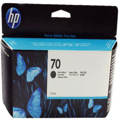 Genuine HP C9448A (#70) Matte Black Ink Cartridge (HP70LCOEM)