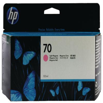 Genuine HP C9455A (#70) Light Magenta Ink Cartridge (HP70LMOEM)