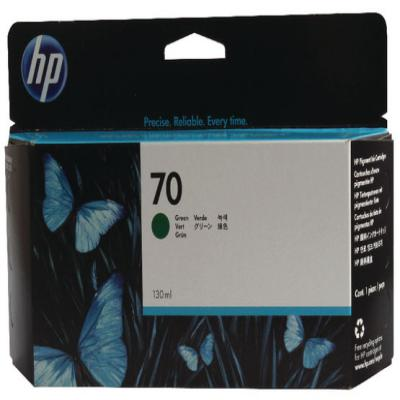 Genuine HP C9457A (#70) Green Ink Cartridge (HP70GOEM)